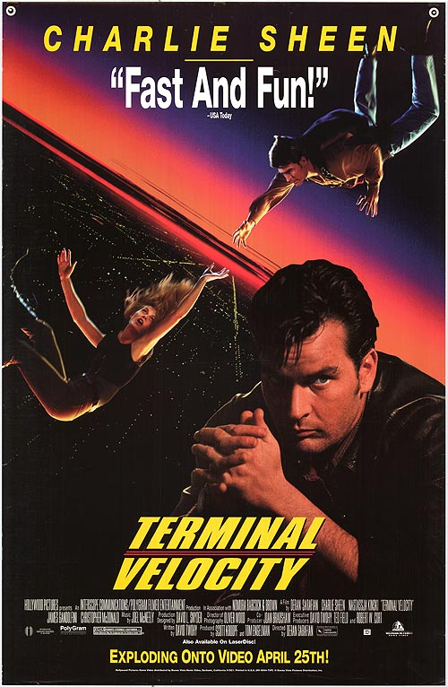 terminal velocity  1994  movie