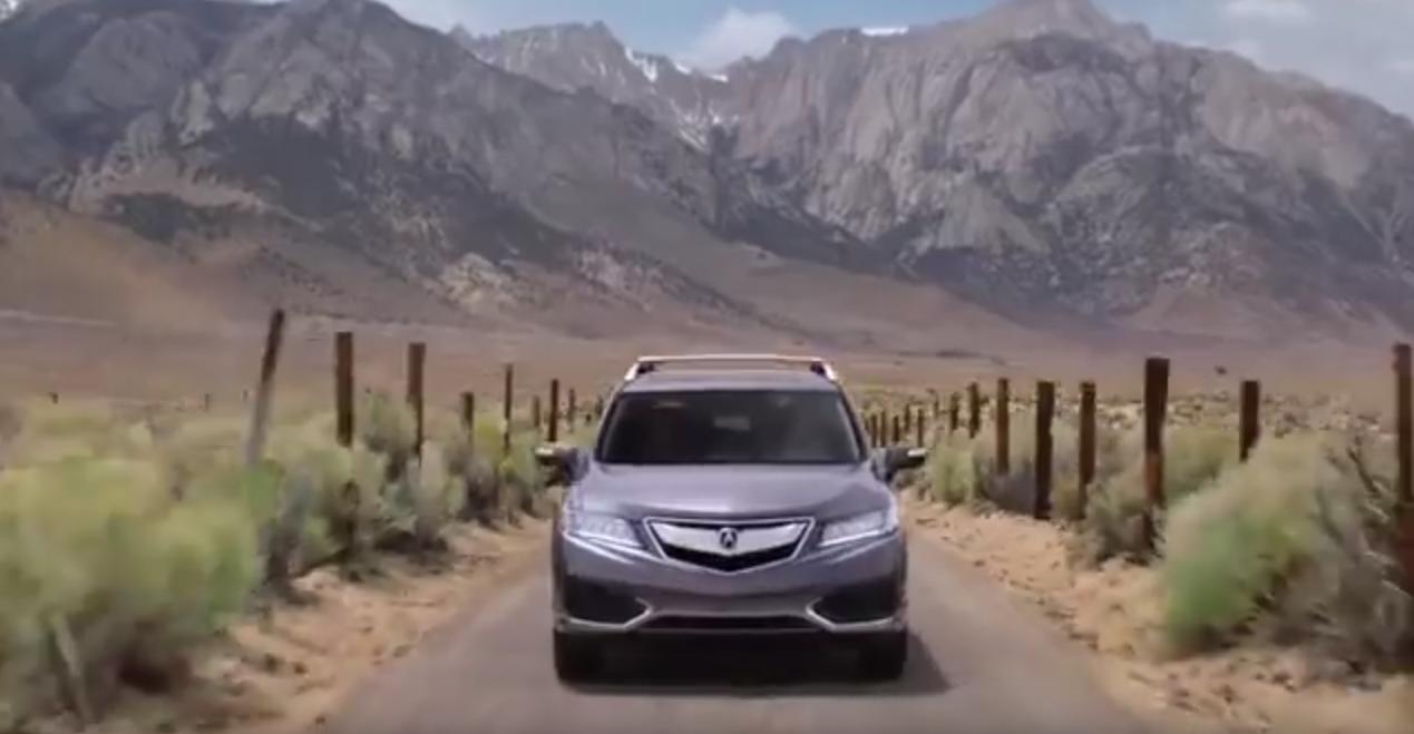 Acura rdx commercial 2017