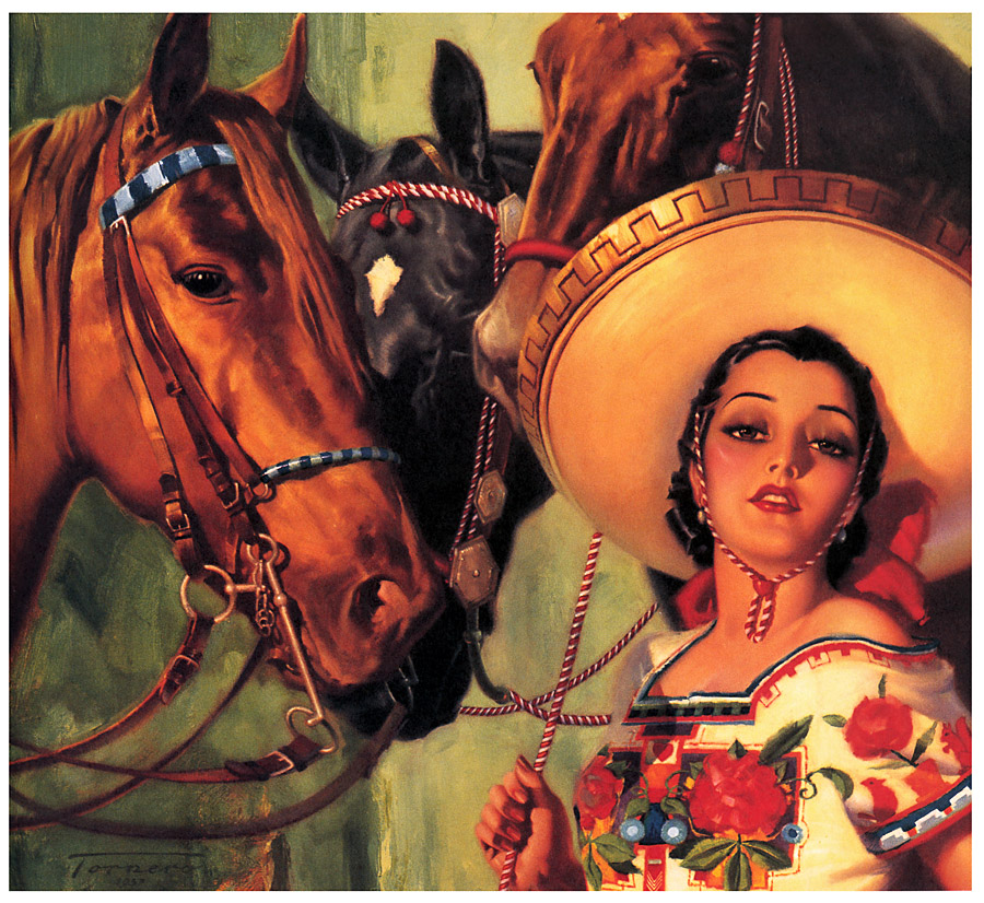 N Calendar Art History : Classic cowgirls