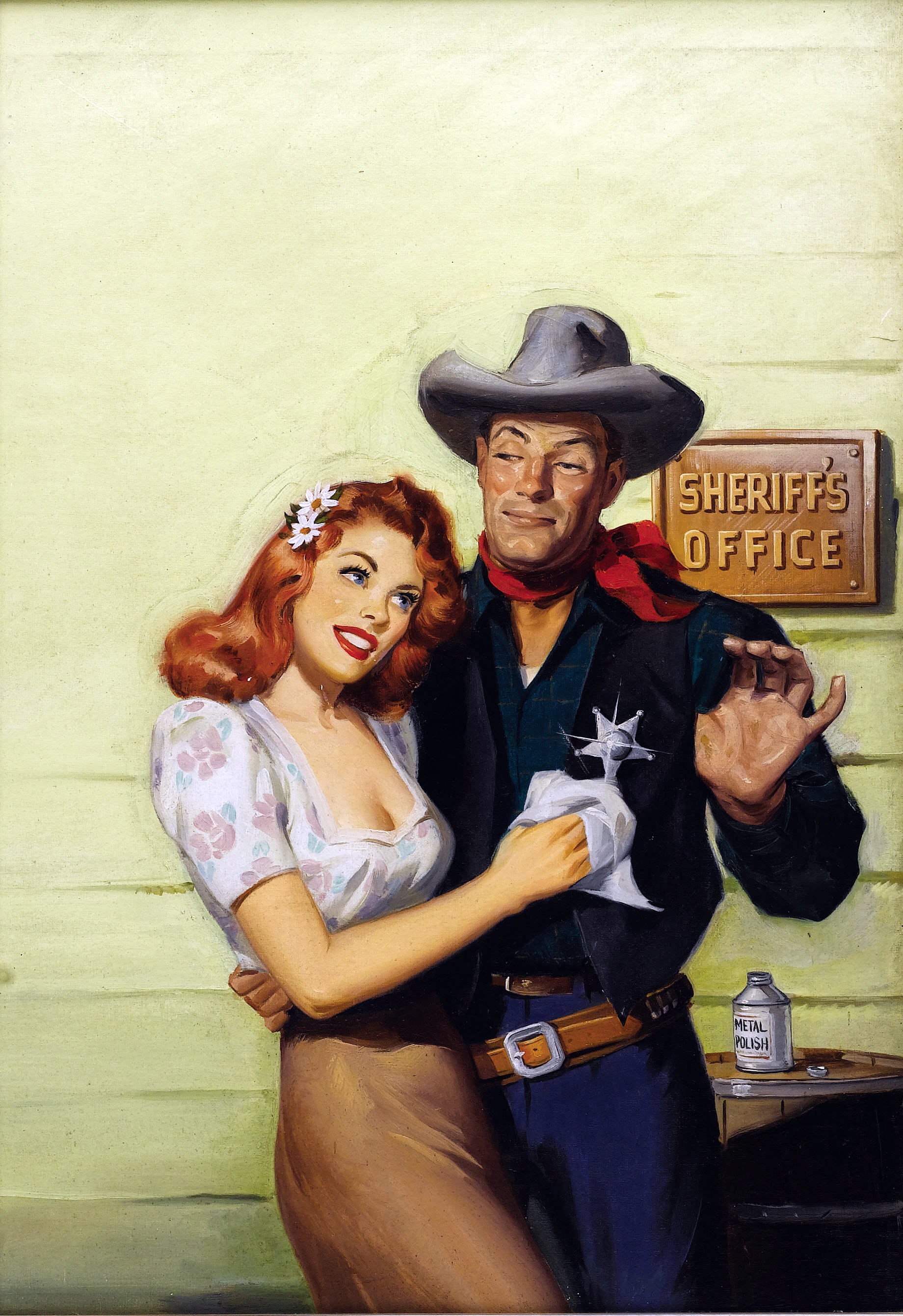 Cowgirl Pulp Art And Magazines