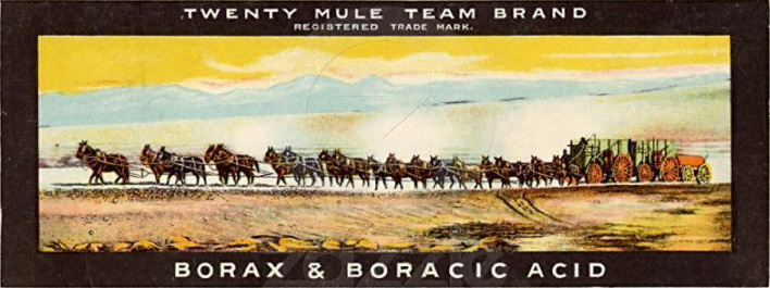 Death valley sketches for 20 mule team borax swimming pools