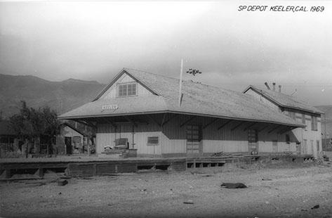 keeler railroad depot