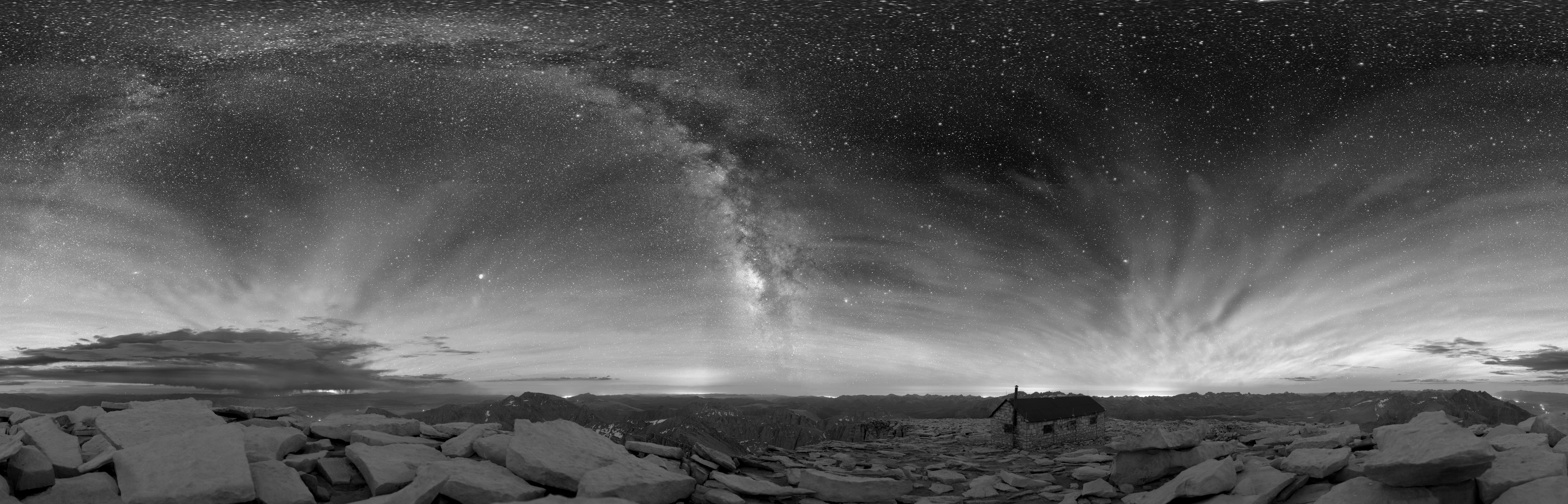 Degree Sky Degree Dark Sky Panorama