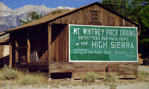 mt. whitney pack trains